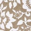 Eve– Tapis de bain et contour lavabo/WC à fleurs, NATUREL, swatch
