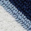Spa Wide Striped Bath & Pedestal Mats, BLUE MIX, swatch