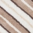 Spa Striped Bath & Pedestal Mats, MOCHA MIX, swatch