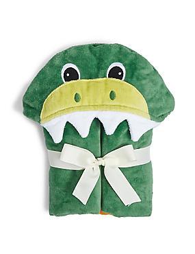 Dino Poncho, GREEN MIX, catlanding