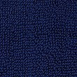 Soft Cotton Bobble Mat & Pedestal Mats, NAVY, swatch
