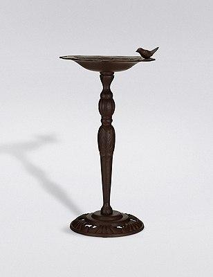Floor Standing Large Bird Bath, , catlanding