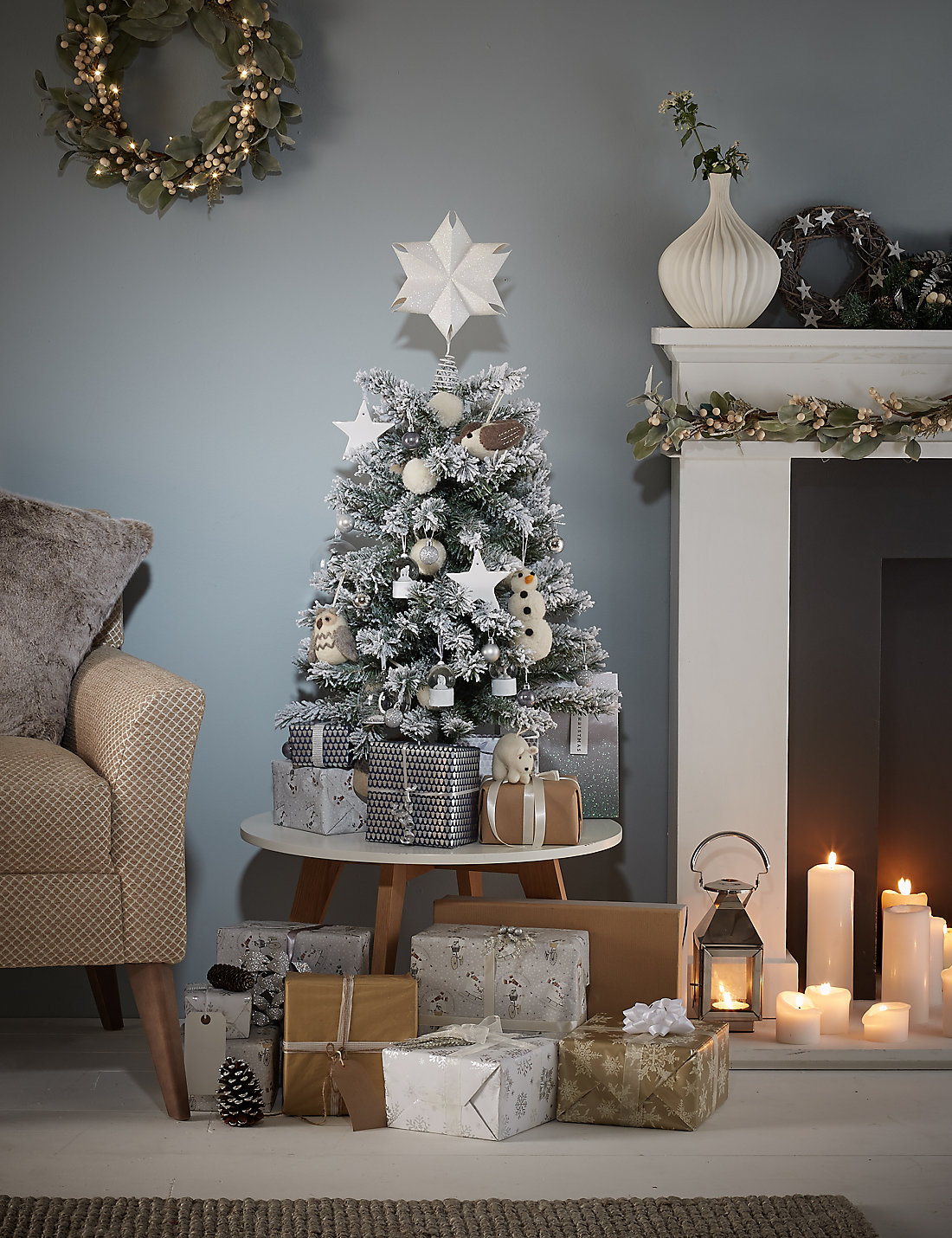 3 ft decorated christmas tree decoration image idea - 3 Ft Christmas Tree