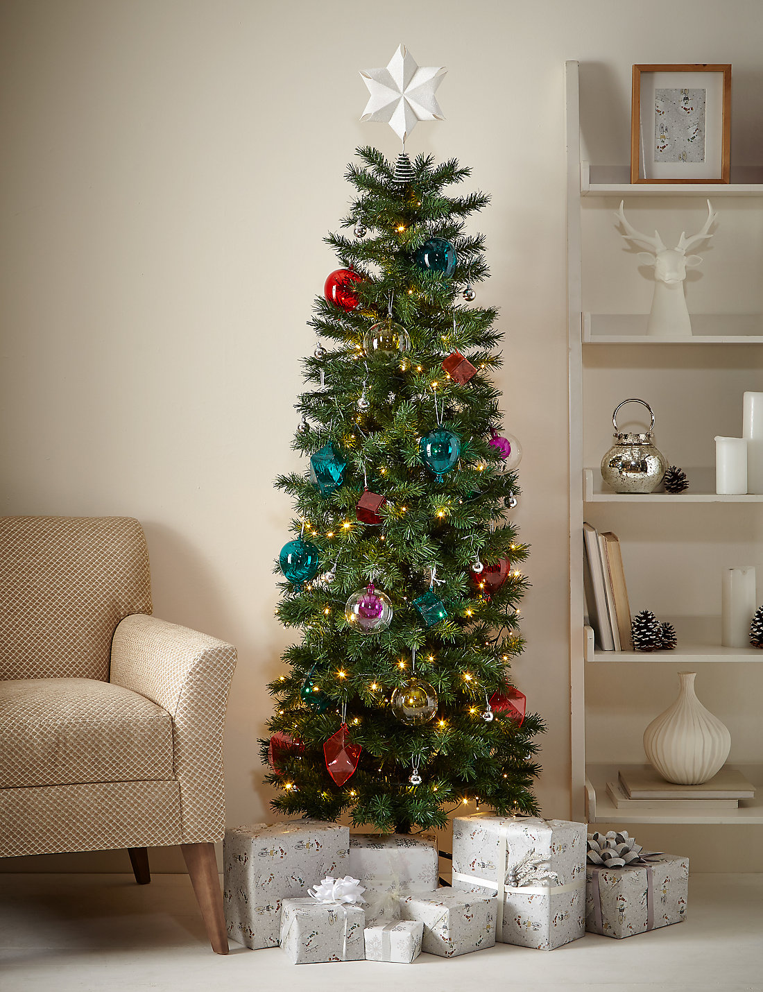 6ft slim christmas tree - Christmas Tree Slim