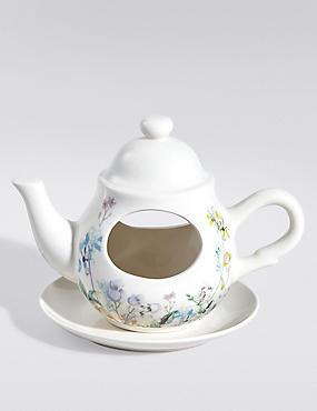 Teapot Bird Feeder, , catlanding