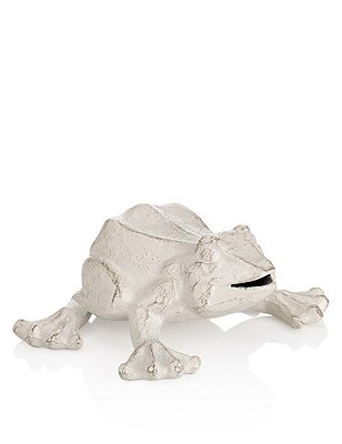 Cast Iron Frog Object, , catlanding