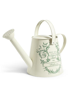 Slogan Watering Can, , catlanding