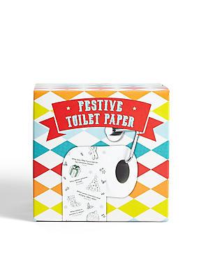 Festive Toilet Paper, , catlanding