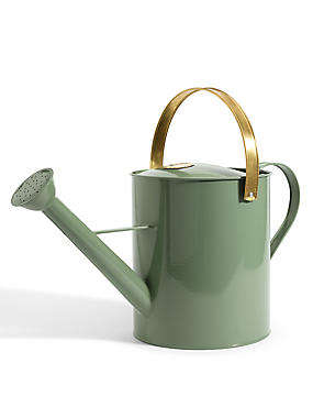Copper & Silver Watering Can , , catlanding