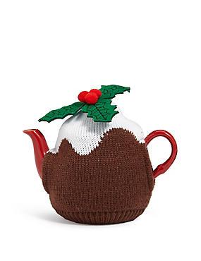 Pudding Teapot, , catlanding