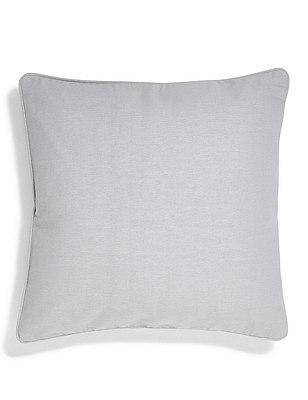 Cotton Rib Cushion, GREY, catlanding