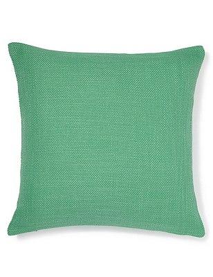 Bantry Weave Cushion, PALE GREEN, catlanding