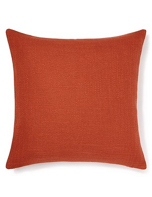 Bantry Weave Cushion, BURNT ORANGE, catlanding