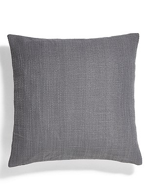 Bantry Weave Cushion, DARK GREY, catlanding