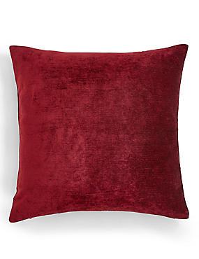 La Perla Cushion, DARK RED, catlanding
