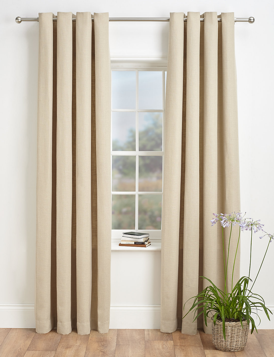 Curtains Pictures bantry weave eyelet curtains | m&s