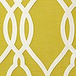 Geometric Jacquard Eyelet Curtains, OCHRE, swatch