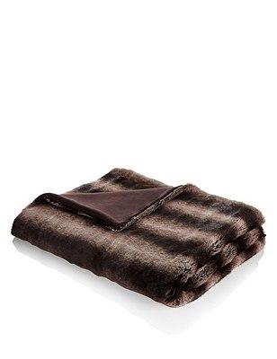 Faux Fur Throw, , catlanding