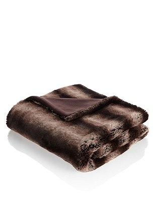 Faux Fur Large Throw, , catlanding