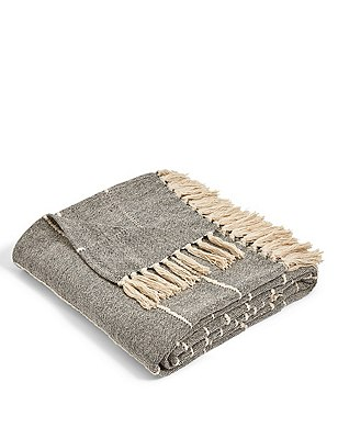 Finley Stripe Throw, , catlanding