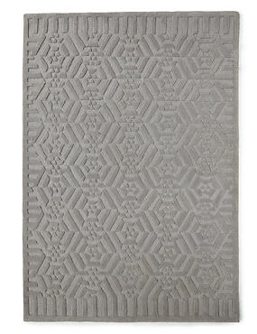 Marcel Wanders Optical Rug, GREY, catlanding