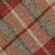 Checked Cushion, RED MIX, swatch