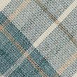 Checked Cushion, DUCK EGG, swatch