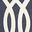 Large Geometric Print Cushion, NAVY MIX, swatch