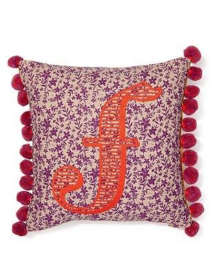 Alphabet Cushion F, , catlanding