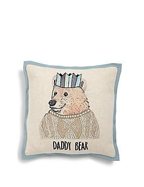 Daddy Bear Cushion, , catlanding
