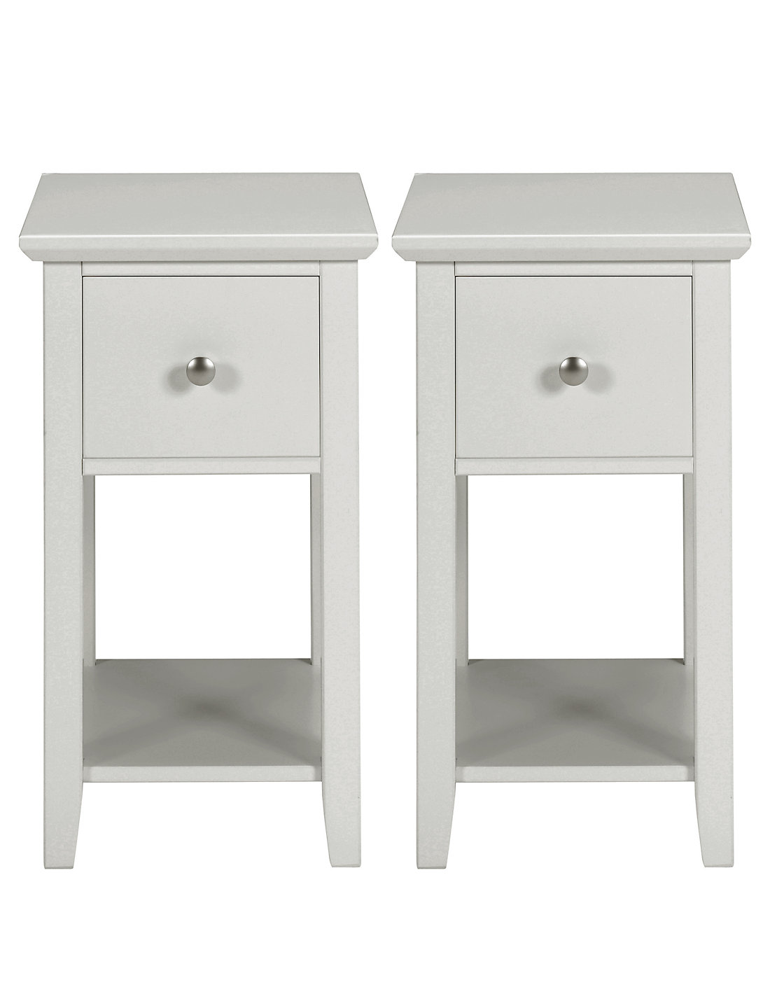 Custom 50 thin bedside table design decoration of best 25 for Narrow dressing table with drawers