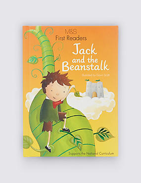 First Readers Jack & The Beanstalk Book, , catlanding
