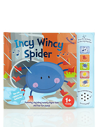 Incy Wincy Spider Sound Book Home