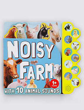Noisy Farm Book, , catlanding