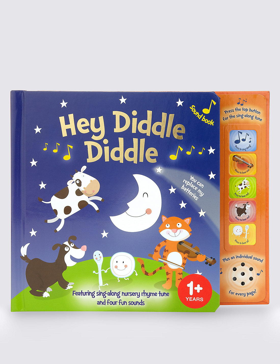 hey diddle diddle sound book m u0026s