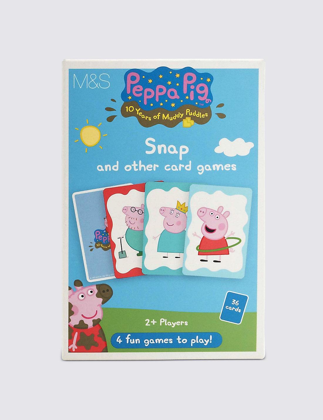 peppa pig snap u0026 other card games m u0026s