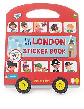 My First London Sticker Activity Pack