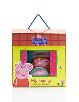 Peppa Pig My Family Board Book Collection Home