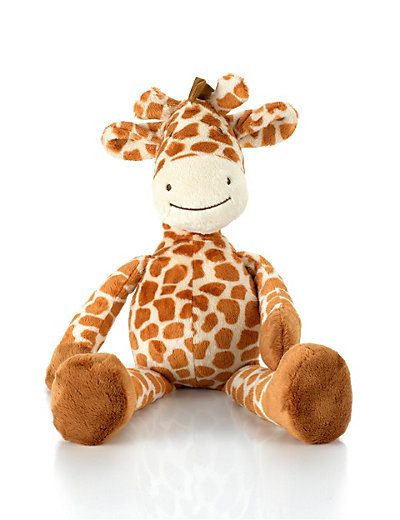 Medium Dangly Giraffe Soft Toy Home