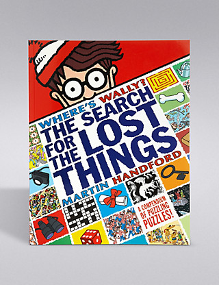 Where's Wally Activity Book Home