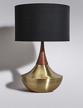 Tribe Shaded Table Lamp, , catlanding