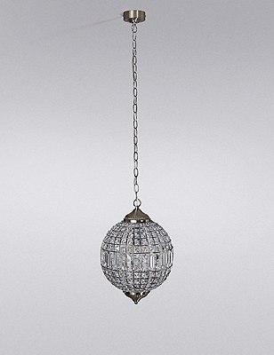 Gem Ball Small Ceiling Pendant, , catlanding