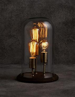 Evelyn Cloche Table Lamp, , catlanding