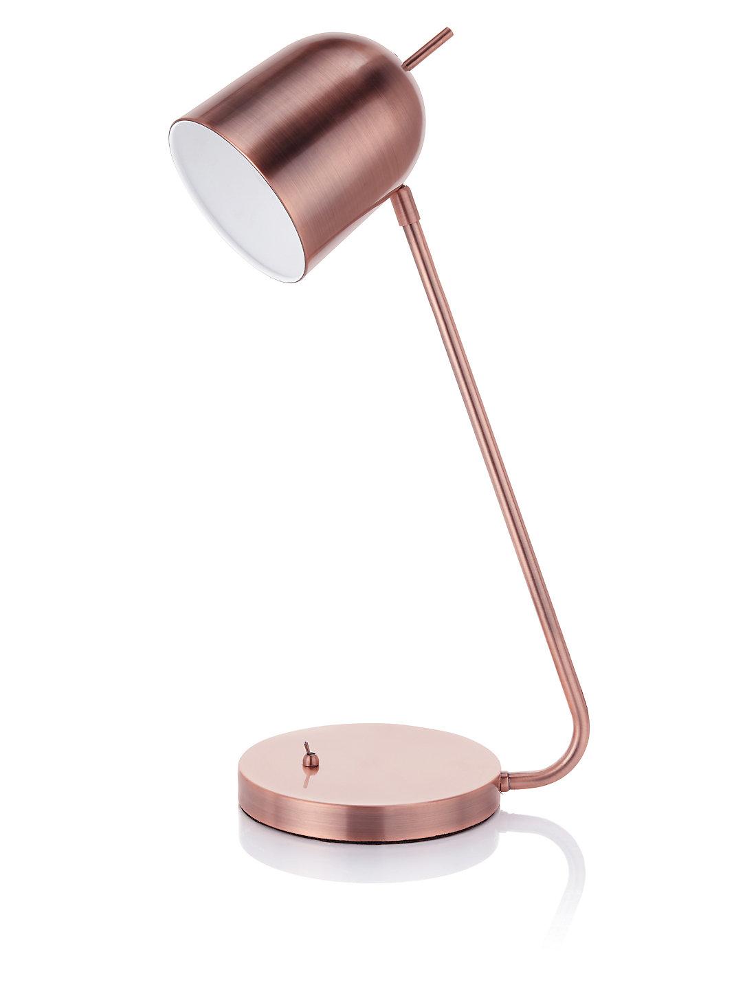 Conran pinero copper task table lamp ms conran pinero copper task table lamp geotapseo Images