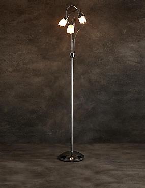 Andrea3 Light Floor Lamp, , catlanding