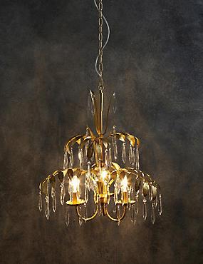 3 Light Francesca Chandelier, , catlanding
