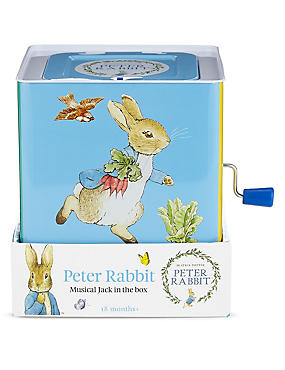 Peter Rabbit™ Jack in a Box Soft Toy