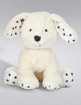 Puppy Rattle Soft Toy