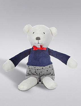 Bear in Outfit Soft Toy