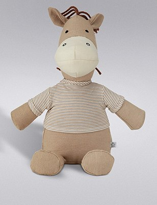 Striped Horse Soft Toy, , catlanding